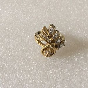 Antique 925 topaz ring